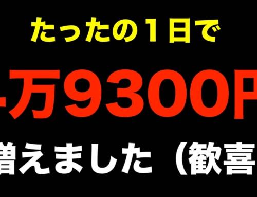 4万9300円増えました(歓喜)