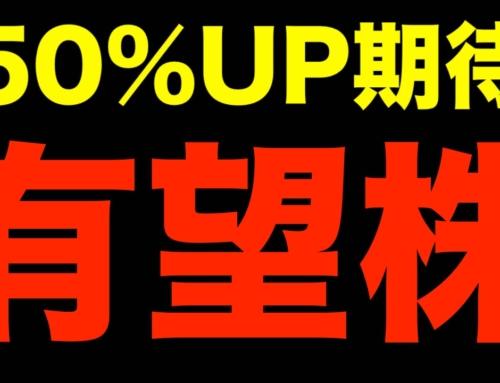 50%UP期待の有望株